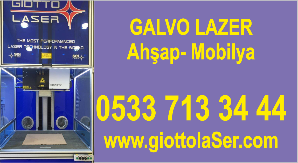 Galvo Lazer Satılık