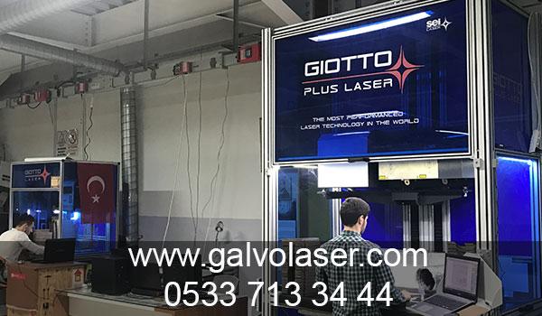 Wanetti Ayakkabı Konya Giotto Plus Galvo Lazer Kurulumu Yapılmıştır