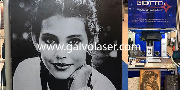 Galvo lazer resim baskı makinası
