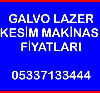 (Turkish) Galvo lazer kesim makina fiyatları